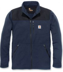 carhartt vest men fallon zip sweatshirt navy-s