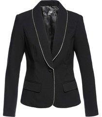 blazer con strass premium (nero) - bpc selection premium