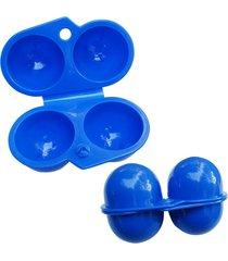 5pcs carry 2 eggs container holder storage box case folding portable plastic