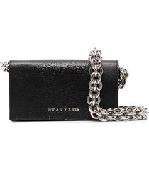 1017 alyx 9sm giulia chain-strap clutch - black