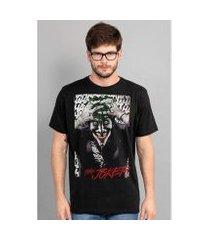 camiseta bandup the joker a piada mortal black
