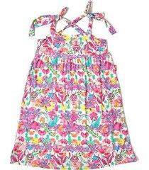 vestido infantil jokenpô floral