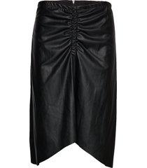 tara midi skirt knälång kjol svart designers, remix