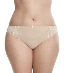 lane bryant women's dazzler thong panty 14/16 cafe mocha