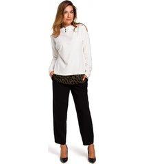 blouse style s195 trui met laagjes - gember