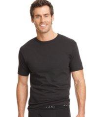 alfani men's underwear, tagless crew neck undershirt 3 pack