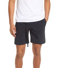 men's bp. men's belted nylon shorts
