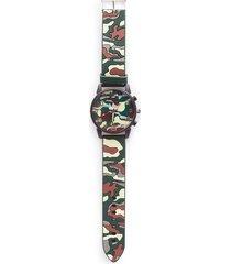 reloj para hombre color verde, talla uni