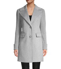 anna wool-blend coat