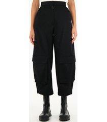 loewe cargo trousers in wool
