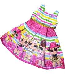 vestido lol patatitas i2209 multicolor