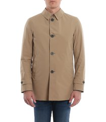 herno classic single-breasted jacket