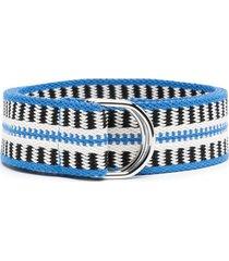 isabel marant woven belt - blue