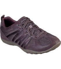zapatilla breathe - easy - be - relaxed malva skechers