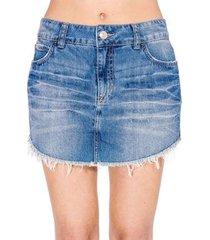 minissaia jeans colcci
