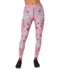 cor by ultracor floral-print pull-on leggings