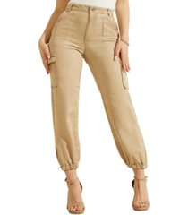 guess bowie cargo chino ankle pants