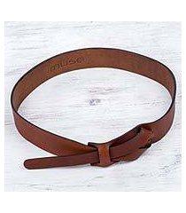 leather belt, 'classical' (peru)
