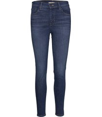 720 hirise super skinny echo s skinny jeans blå levi´s women