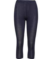 decoy capri viscose stretch leggings blå decoy
