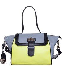 phive rivers womens shoulder bag (lime green) (pr924)