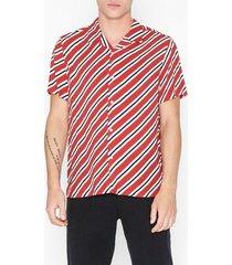 topman red stripe t-shirt skjortor red
