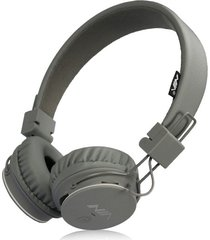 audífonos gamer, nia x2 gaming estéreo hd manos libres original auriculares bluetooth libre plegables deportivos con micrófono de apoyo tf tarjeta de radio fm (gris)