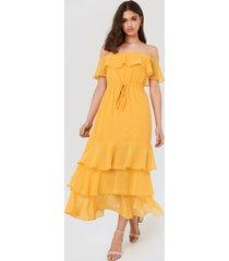 fayt baxter dress - yellow