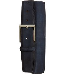 men's magnanni arena suede belt
