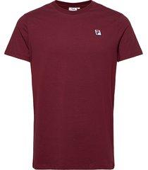 men seamus tee ss t-shirts short-sleeved röd fila
