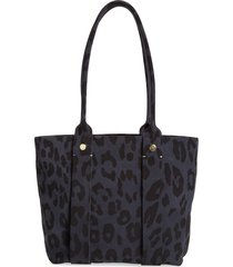 clare v. petit cousin leather tote - blue