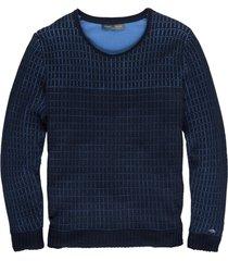 cast iron zachte blauwe trui katoen