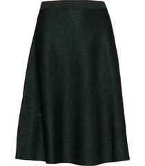 maddie skirt 9554 knälång kjol grön samsøe samsøe
