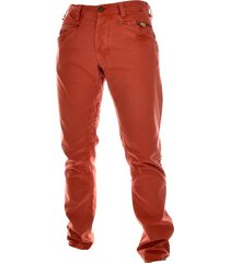 pme legend bare metal dirty twill jeans roest oranje