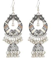 orecchini nappa bohemian orecchini a goccia bell hallow orecchini a forma di nastro retrò per le donne