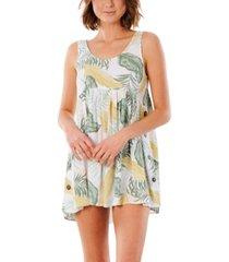 rip curl juniors' coastal palms mini dress