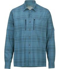 outdooroverhemd killtec blauw