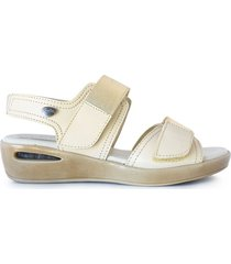 sandalia beige briganti mujer samsun