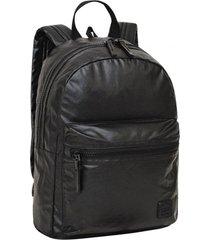 mochila clio metalizada negro head