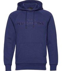 m orig h hoodie trui blauw peak performance