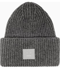 acne studios pansy n face beanie hat d40009-990000