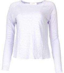 basic katoenen t-shirt sonoma  lila