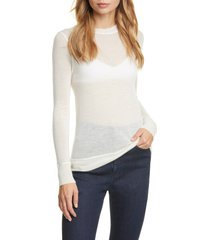 women's rag & bone marina cashmere sweater, size x-small - white