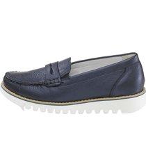 loafers waldläufer blå