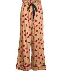 lola pants pyjamasbyxor mjukisbyxor beige underprotection