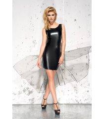 * me seduce jurk jasmin-zwart (s/m - 2xl)