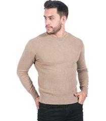 suéter para hombre beige
