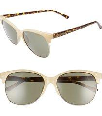 women's smith rebel 58mm cat eye sunglasses -