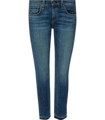 jeans with raw hems