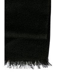 brunello cucinelli fringed edge classic scarf